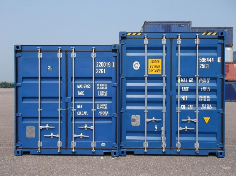 Container 40 ft. High Cube